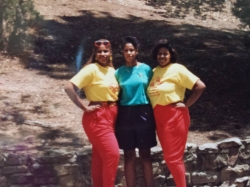 Sisters: Deanie, Michelle, and Janelle